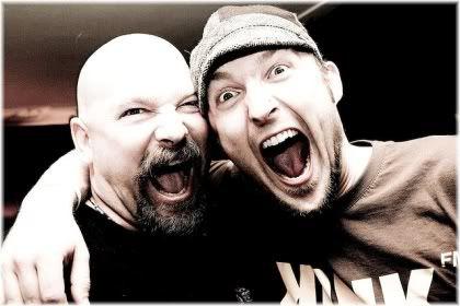 two men happy