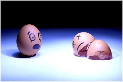 worried egg