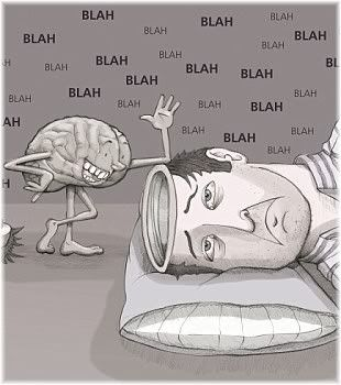 brain talking