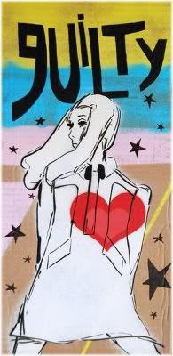 woman heart guilt