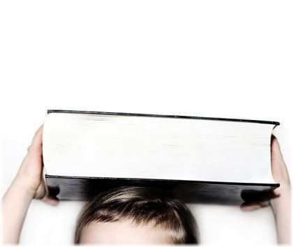 balancing book on head