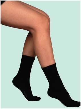 ankle length compression sock