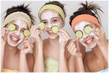 teenage girls face mask