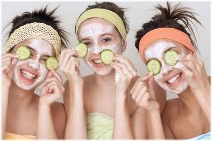 teenage girls face mask