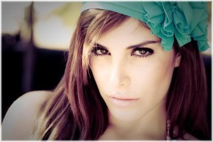 woman model face
