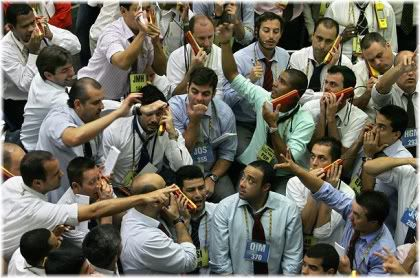 stock floor traders