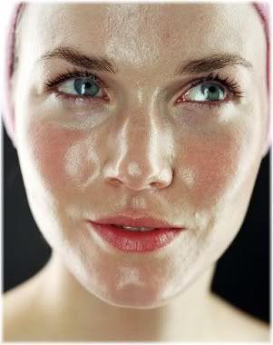 oily face
