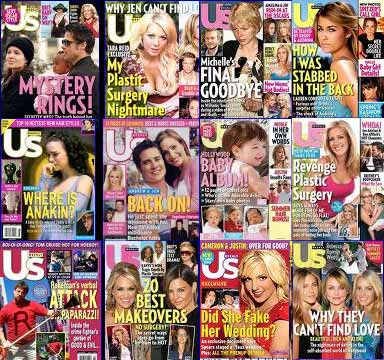 celebrity magazines