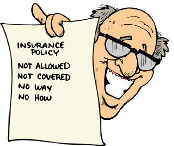 insurance exclusions