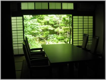 Japanese Zen negotiation room