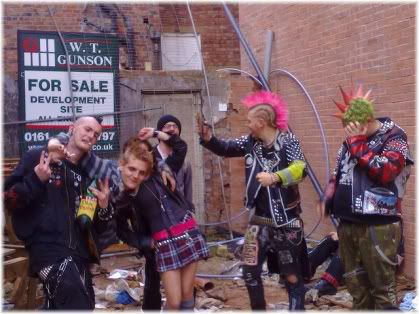 group of punks