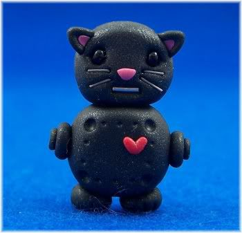 black cat figure