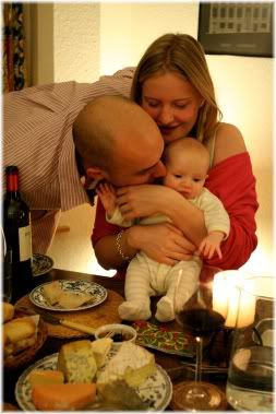 parents with baby