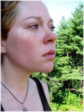 sad woman face