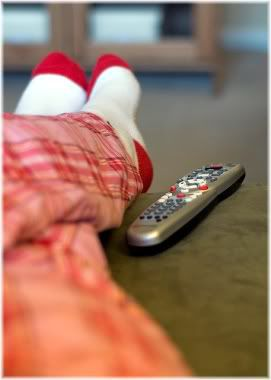 feet tv remote