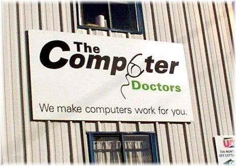 the computer doctors billboard