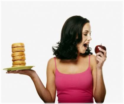junk vs healthy food
