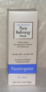 neutrogena cooling gel mask