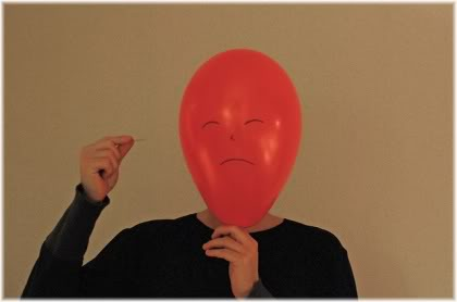 pin to balloon head