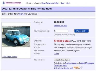 car sale ebay