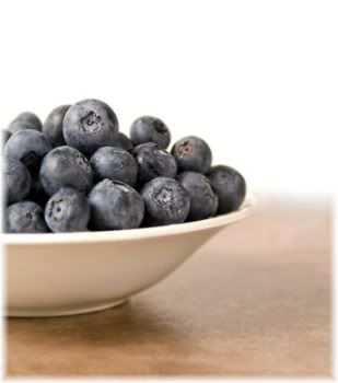 bilberry in bowl