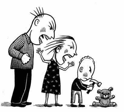 parent child violence