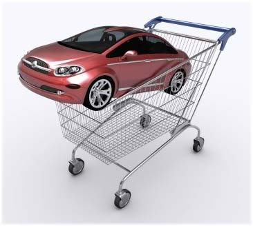 car in trolley