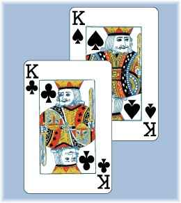 card overlapping another card