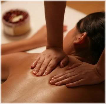 woman massage