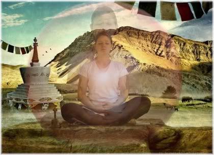 woman meditation