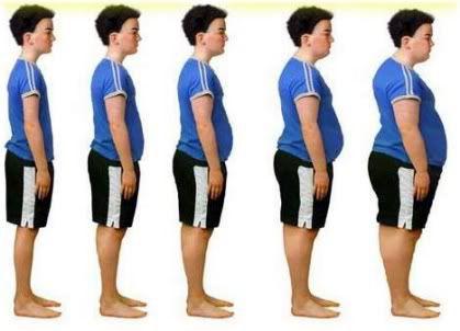 boy getting fatter