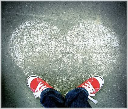 heart on floor