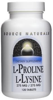 lysine proline