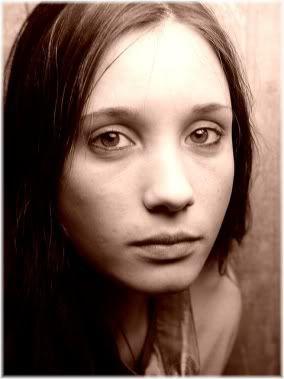 sad girl face
