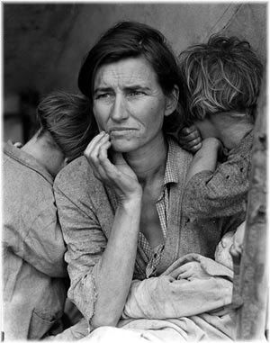 woman during the Great Depression
