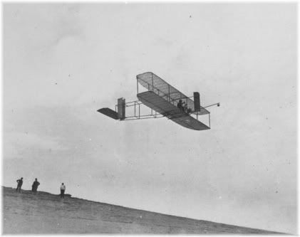Wright brother airplace