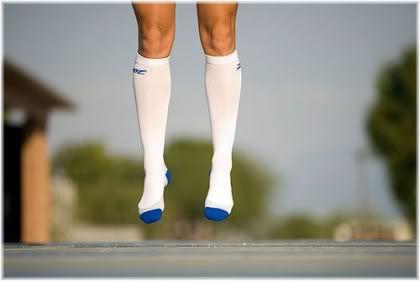 feet jumping