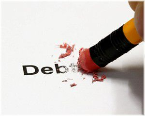 rubbing out debt