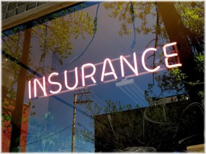 insurance sign