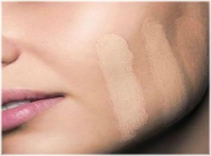 concealer skin tone test