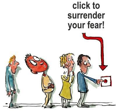 surrender your fear